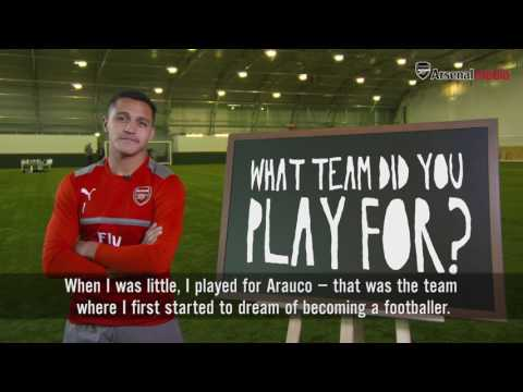 Who was Alexis' favourite player? | When I was 10