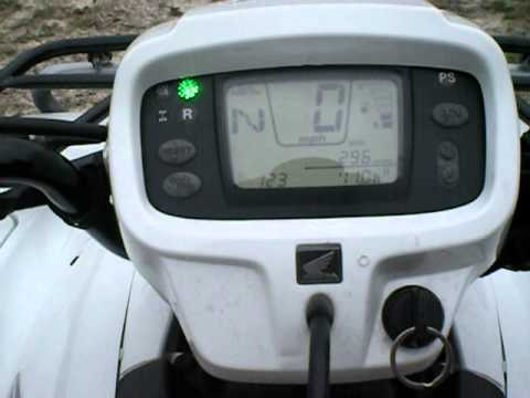 Honda Foreman 500 >> 2008 Honda Foreman 500 Electric Shift Power Steering - YouTube