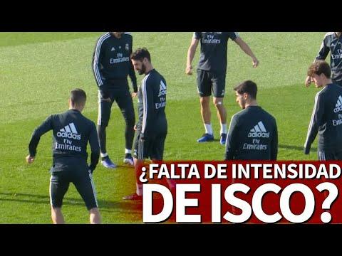 ¿Es esta falta de intensidad de Isco en el rondo es por la que Solari no cuenta con él? | Diario AS