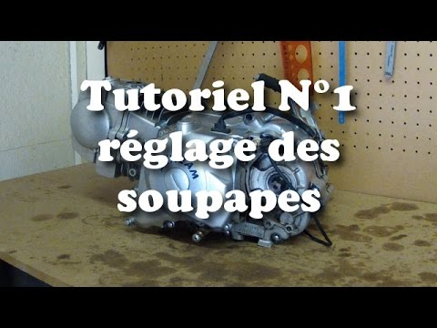 tutoriel n 1 le r glage des soupapes youtube. Black Bedroom Furniture Sets. Home Design Ideas