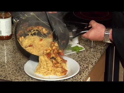 How To Make Angel Hair Pasta With Grilled Chicken