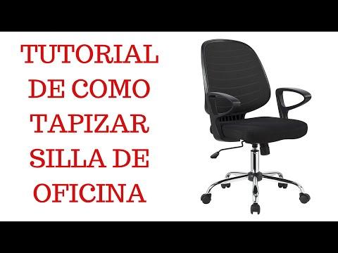 TUTORIAL, Como TAPIZAR silla de OFICINA / PASO A PASO / TAPIVIC