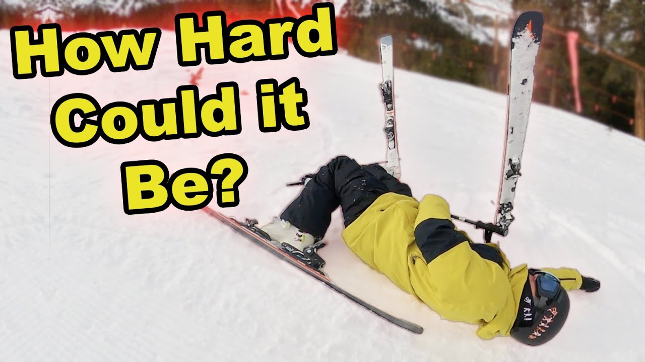 Download Pro Snowboarder Tries Skiing! - (Season 5, Day 27)