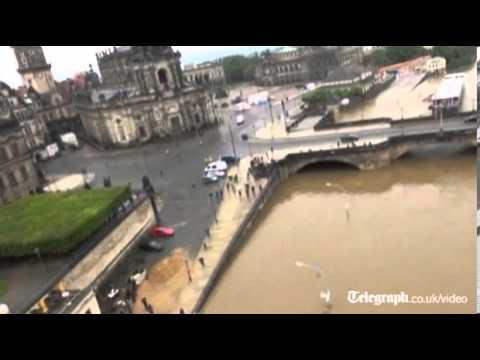 Dresden and Prague struck by flooding
