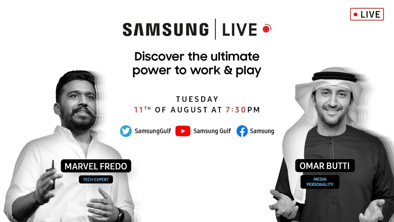 Samsung Live - Discover the ultimate power to work & play