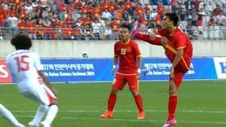 Nguyễn Huy Hùng goal (vs Olympic UAE) - 26/9/2014