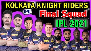 Vivo IPL 2021 Kolkata Knight Riders Final Squad   KKR Full Squad 2021   KKR Team Players List 2021