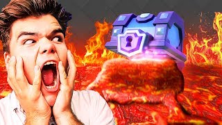 THE FLOOR IS LAVA IN CLASH ROYALE!