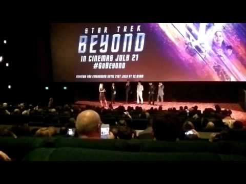 Star Trek Beyond Australian Premiere Cast Interview