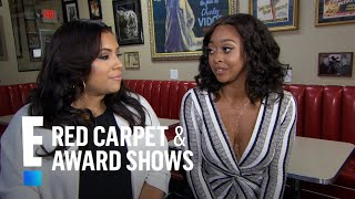 Sabrina Britt & Asia Saffold Talk Life as a Rams Wife | E! Live from the Red Carpet