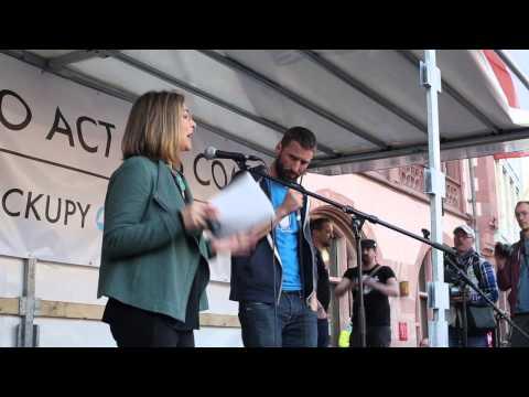 Video – 18 March 2015: Naomi Klein speaks at Blockupy