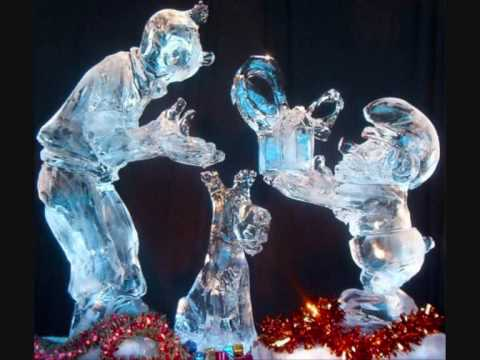 sculptures en neige et en glace youtube. Black Bedroom Furniture Sets. Home Design Ideas