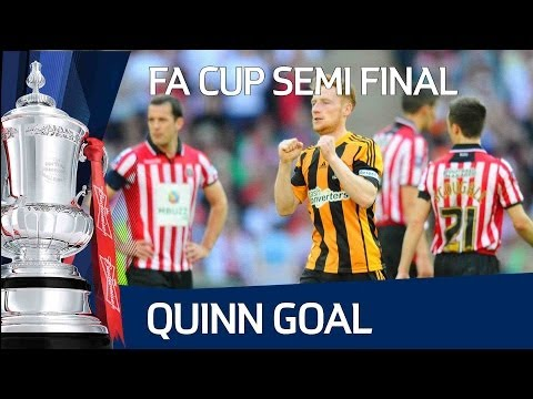 STEPHEN QUINN GOAL: Hull City extend their lead to make it 4-2 in the FA Cup Semi Final