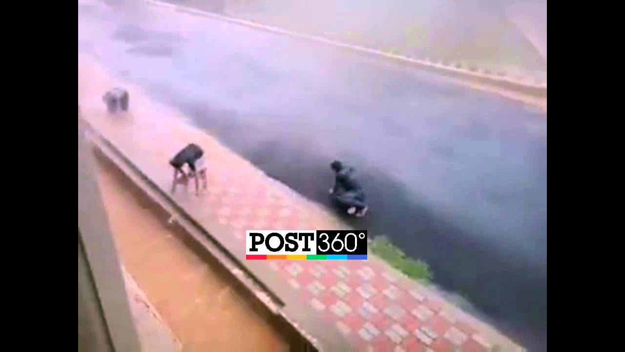 Hudhud Cyclone Live Video in Vizag