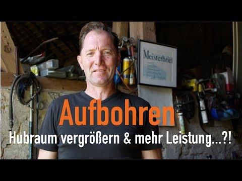 Aufbohren - Hubraum vergrößern & mehr Leistung...?! Erklärt vom Kfz Meister von YouTube · Dauer:  3 Minuten 4 Sekunden