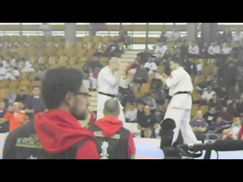 DOJO SHINDEN KYOKUSHIN - sensei manuel zafra vs alberto de la vara - 2º RONDA