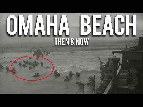 Omaha Beach WWII Then & Now - 10 Epic Photographs
