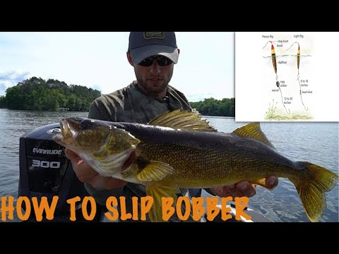 Slip Bobbering for Walleyes - Larry Smith Outdoors TV
