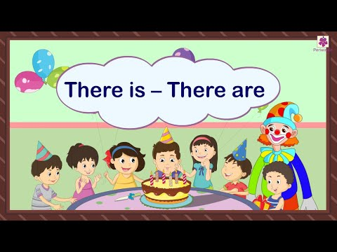 There Is – There Are | Grammar Grade 1 | Periwinkle