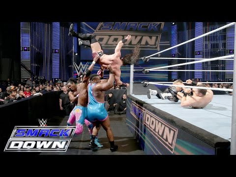 Dolph Ziggler, Neville, Goldust & R-Truth Vs. The New Day & The Miz: SmackDown, 7. Januar 2016