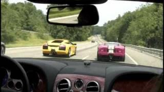 Ford GT vs Lamborghini Murcielago