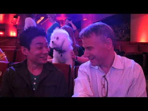Kenichi Ebina & Jim Meskimen Chat at Radio City Music Hall