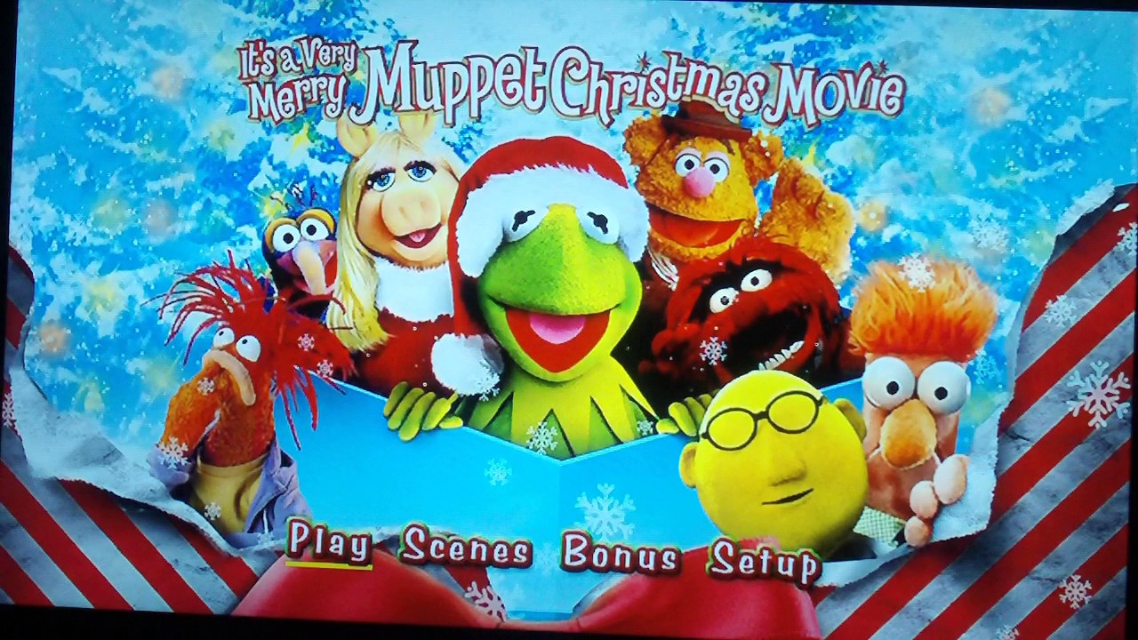 Opening To It's A Very Merry Muppet Christmas Movie 2010 DVD (2016 ...