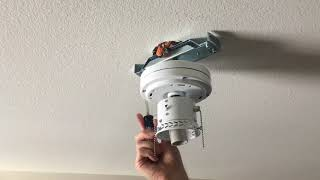 """Install Mainstays Ceiling Fan 42"""" with Light"""