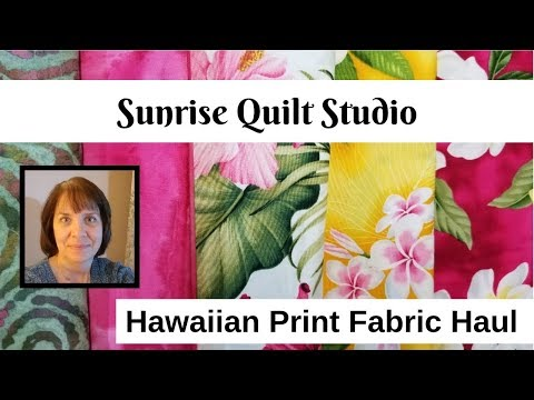 Hawaiian Fabric Haul