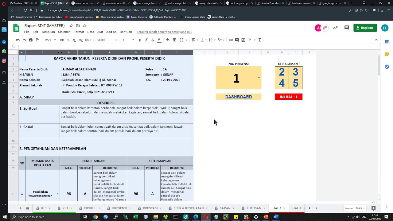 Tutorial Raport Online TA 2019 2020 - YouTube
