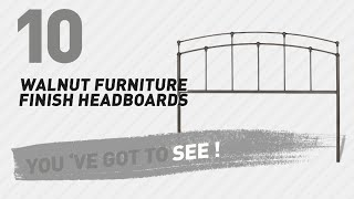 Walnut Furniture Finish Headboards // New & Popular 2017 For more info about these great Headboards, Just click the circle in the