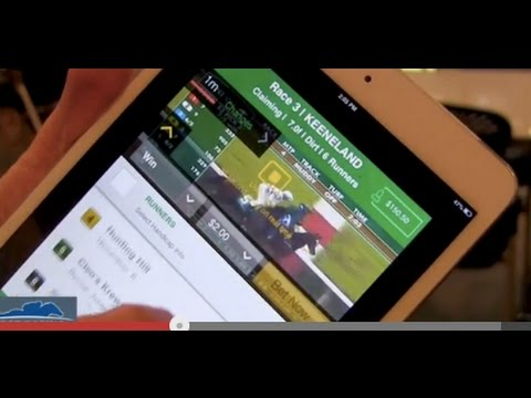 Horse Racing Betting App Review - TVG App