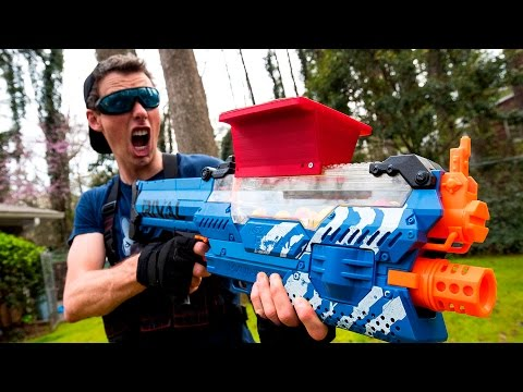NERF WAR: THE STOLEN NERF GUN (Drac Vs Aaron)