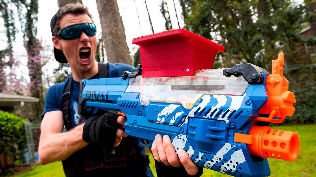 Download NERF WAR: THE STOLEN NERF GUN (Drac Vs Aaron)