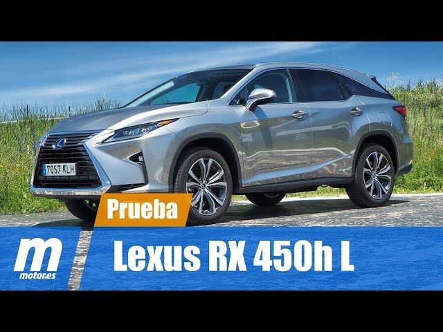 Lexus RX 450h L | Prueba / Testdrive / Review en Español HD
