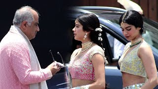 Sonam Kapoor's Wedding: Boney Kapoor Breaks Down Remembering Sridevi In Front Of Jhanvi & Khushi