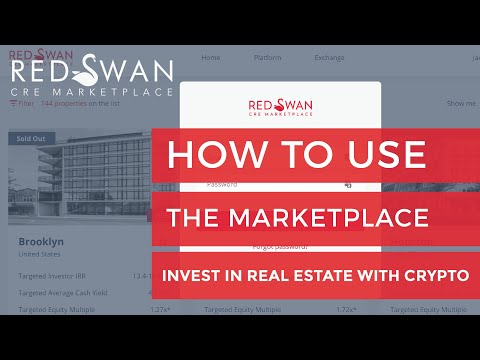 How to use RedSwan.io to Invest in Real Estate