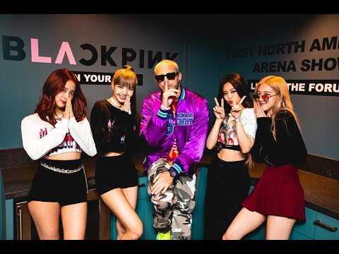 DJ Snake Shared New Video With BLACKPINK After Tour In LA
