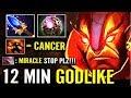 Miracle [Ember Spirit] Aghanim's Scepter 31 KILL Brutal Match Dota 2 gameplay