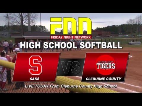 Saks at Cleburne County Softball