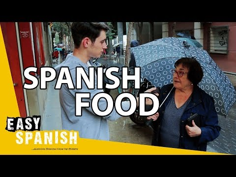 TRADITIONAL FOOD IN SPAIN 🇪🇸 | Easy Spanish 121