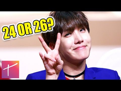 BTS Members Real Age and Name