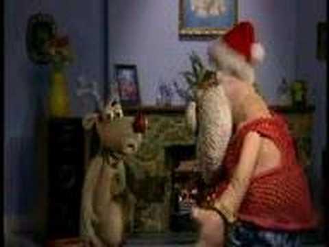 Robbie Meets Santa