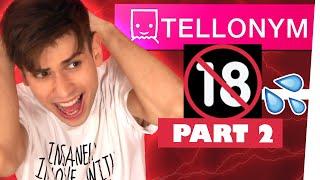 Meine perversen Tellonym Fragen... FSK 18 !!!!! | Kostas Kind