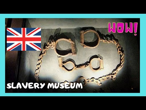LIVERPOOL, the SLAVERY MUSEUM covers untold stories of the slave trade