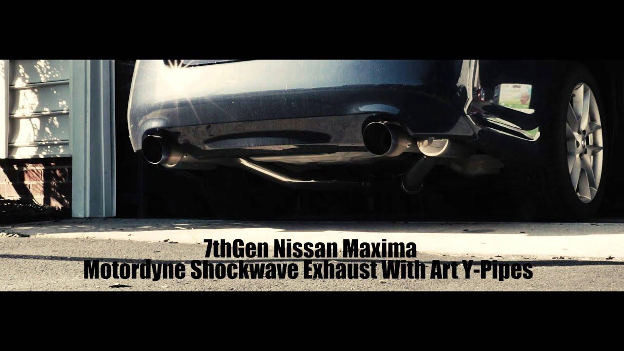 7thgen Maxima Motordyne Exhaust Art Y-pipe