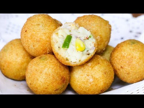 Italian Party Balls | Italian Snacks Recipe | Tasty Party Appetizers | Kanak's Kitchen