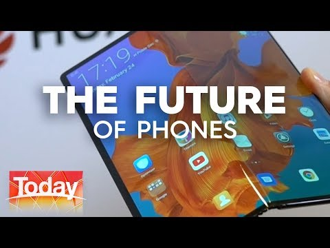 Phones of the Future | TODAY Show Australia