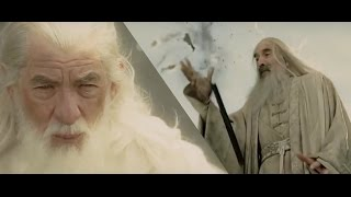 Saruman, your staff is broken.
