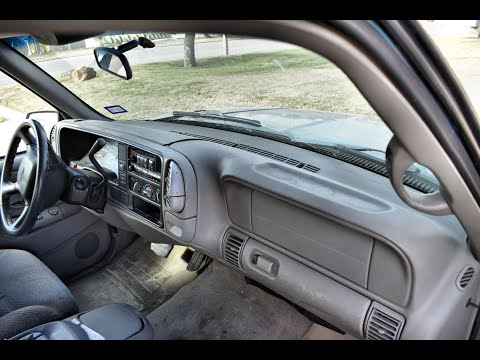 Coverlay® 1997-2000 Chevy/GMC  Dash Cover Installation. Part# 18-798